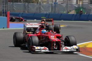 24.06.2012- Race, Fernando Alonso (ESP) Scuderia Ferrari F2012