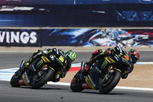 Dovizioso and Crutchlow, USA MotoGP 2012