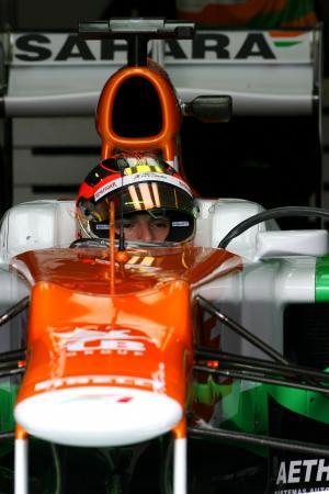 Jules Bianchi (FRA), Sahara Force India Formula One Team 12.09.2012. Formula One Young Drivers Test