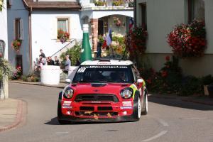 Dani Sordo (ESP) Carlos del Barrio (ESP), Mini John Cooper Works, MINI WRC TEAM