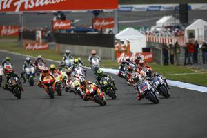 Pedrosa leads start, Japan MotoGP 2012