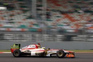 27.10.2012- Free Practice 3, Pedro de la Rosa (ESP) HRT Formula 1 Team F112
