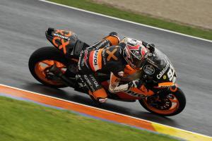 Marquez, Valencia Moto2 2012