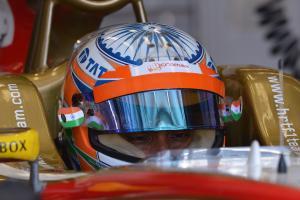 16.11.2012 - Free practice 2, Narain Karthikeyan (IND) HRT Formula 1 Team F112