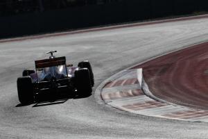17.11.2012 - Free Practice 3, Narain Karthikeyan (IND) HRT Formula 1 Team F112