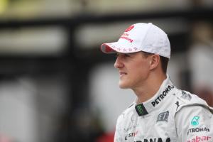 Mercedes' message of support to Schumacher
