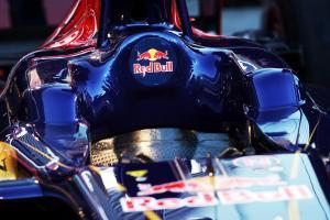 Scuderia Toro Rosso STR8 cockpit.