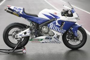 Sofuoglu`s Winston Ten Kate Honda CBR600RR, WSS Qatar, 2006