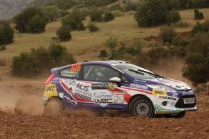Jose Suarez (ESP) Candido Carrera (ESP), Ford Fiesta R2