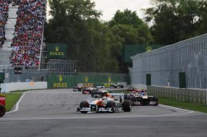 09.06.2013- Race, Adrian Sutil (GER), Sahara Force India F1 Team VJM06