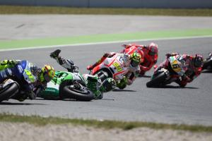 Valentino Rossi: 'Bautista becomes a little bit crazy'