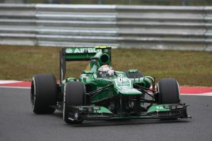 06.10.2013- Race, Giedo Van der Garde (NED), Caterham F1 Team CT03