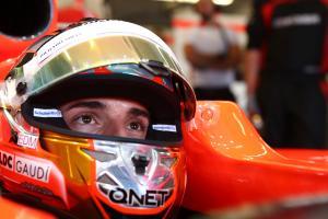 16.11.2013- Free Practice 3, Jules Bianchi (FRA) Marussia F1 Team MR02
