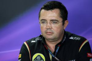 22.11.2013- Press conference, Eric Boullier (FRA), Team Manager, Lotus F1 Team