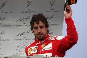 24.11.2013 - Race, 3rd position Fernando Alonso (ESP) Scuderia Ferrari F138