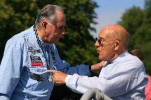 Jack Brabham (AUS) and Stirling Moss (GBR) Goodwood Festival of Speed, Goodwood, UK, 8-10/7/06