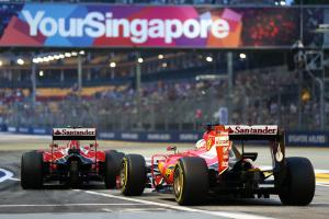 Singapore Grand Prix - Starting grid