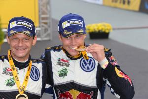 Ostberg picks up Mikkelsen's co-driver Floene
