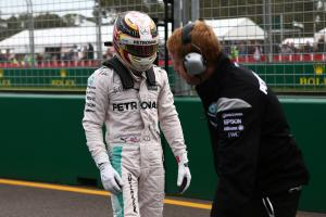 Australian Grand Prix - Starting grid