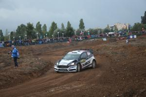 RallyRACC Catalunya - Rally de Espana - Leaderboard after SS1 (Top 15)