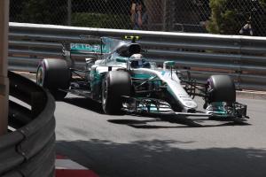 25.05.2017 - Free Practice 2, Valtteri Bottas (FIN) Mercedes AMG F1 W08