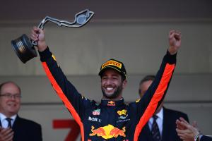 28.05.2017 - Race, 3rd place Daniel Ricciardo (AUS) Red Bull Racing RB13