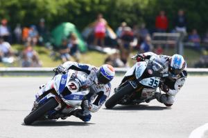Dixon and De Rosa, WSBK Race2, Donington WSBK 2017