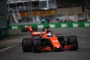 11.06.2017- Race, Fernando Alonso (ESP) McLaren Honda MCL32