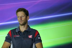 22.06.2017 - Press conference, Romain Grosjean (FRA) Haas F1 Team VF-17