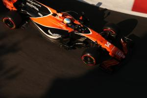 Gearbox failure cause of Alonso's Baku FP2 stoppage