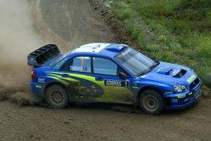 Petter Solberg / Phil Mills - Subaru Impreza WRC04