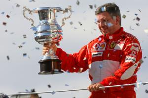 22.10.2006 Sao Paulo, Brazil, Ross Brawn (GBR), Scuderia Ferrari, Technical Director - Formula 1 Wor