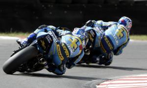 Yukio Kagayama, Rizla Suzuki GSXR chases team mate John Reynolds