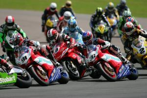 2007 British Superbike Championship, Round 9, Mallory Park, UK, 22nd July 2007, Start of Race 1