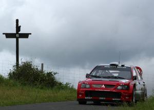 Daniel Sola / Xavier Amigo Colon - Mitsubishi Lancer WRC04