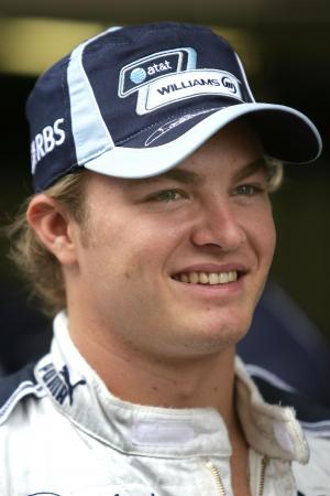 Nico Rosberg (GER) Williams FW29, China F1, Shanghai, 5-7th, October 2007
