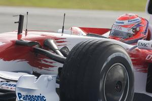 Kamui Kobayashi (JAP), Toyota TF108, F1 Testing, Jerez (ESP), January 16th 2008