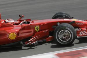 Kimi Raikkonen (FIN) Ferrari F2008, Bahrain F1 Grand Prix, Sakhir, Bahrain, 4-6th, April, 2008