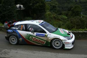 Markko Martin / Michael Park - Ford Focus RS WRC04
