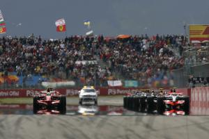 Start, Turkish F1, Istanbul Park, 9th-11th May, 2008