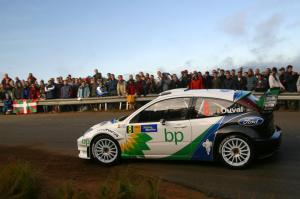 Francois Duval / Stephane Prevot - Ford Focus RS WRC04, Rally Catalunya