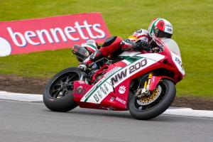 Monday warm up.  200. Michael Rutter North West 200 Ducati