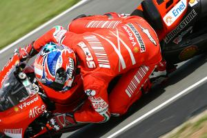 Stoner, British MotoGP 2008