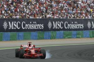 Kimi Raikkonen (FIN) Ferrari F2008, French F1 Grand Prix, Magny Cours, France, 20th-22nd, June, 2008