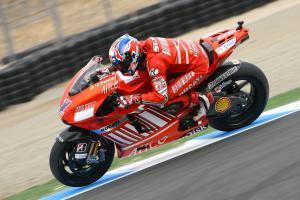 Stoner, USA MotoGP 2008