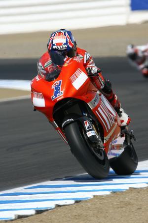Stoner, US MotoGP 2008