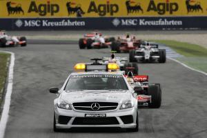 Safety Car, German F1 Grand Prix, Hockenheim, 18th-20th, July, 2008