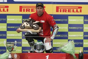 Bayliss, 2008 WSBK Champion, French WSBK Race 1 2008