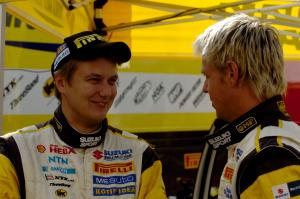 Toni Gardemeister (FIN) and Per-Gunnar Andersson (SUE), Suzuki SX4, Suzuki World Rally Team, Suzuki
