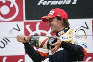 Fernando Alonso (ESP) Renault R28, Japanese F1, Fuji, 10th-12th, October, 2008